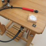 Bohrbiegewelle für die Bohr- und Schleifvorrichtung