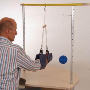 Helparmvorrichtung zum Trainieren der Armabduktion