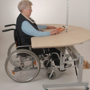Rollstuhlunterfahrbar